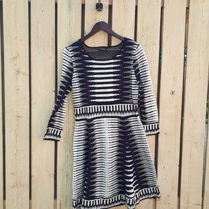 Just...Taylor Striped Sweater Dress
